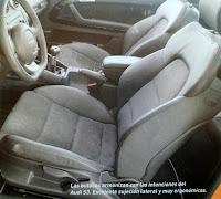 butacas Audi S3