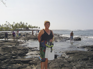 Barbara at City of Refuge Beach