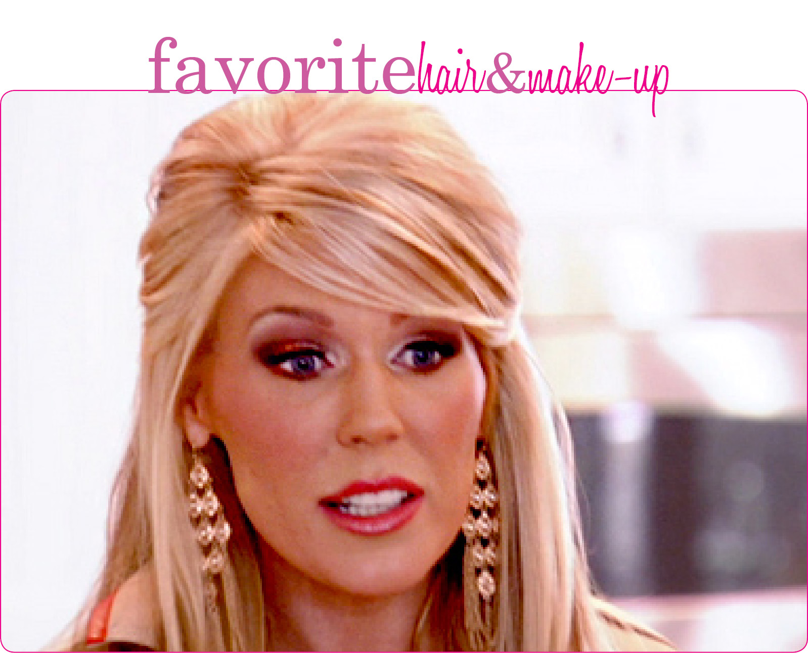 The Bargain Blonde Link Up Friday Faves Reality Tv Edition