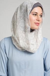 Model Hijab Dengan Bentuk Wajah Bulat