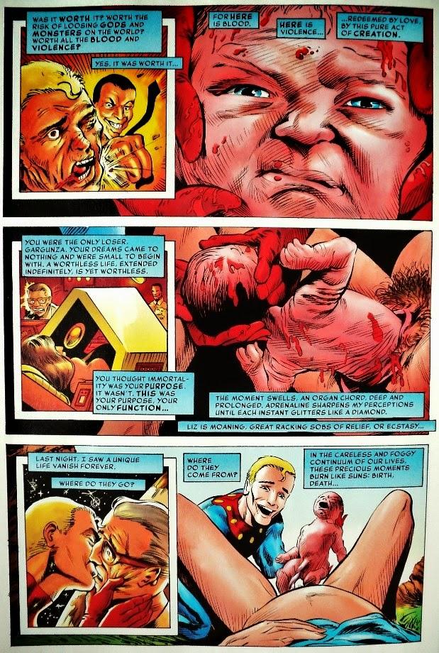 Miracleman # 9 - Alan Moore Rick Veitch