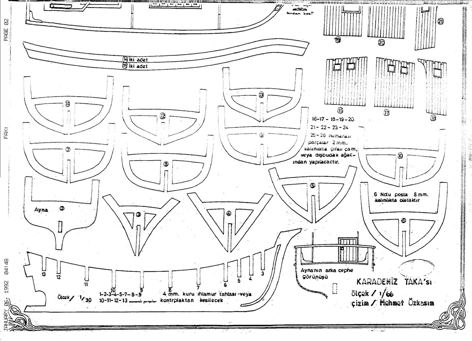 Quinze marins sur le bahut du mort Plan dun TAKA ~ Plan De Bateau En Bois