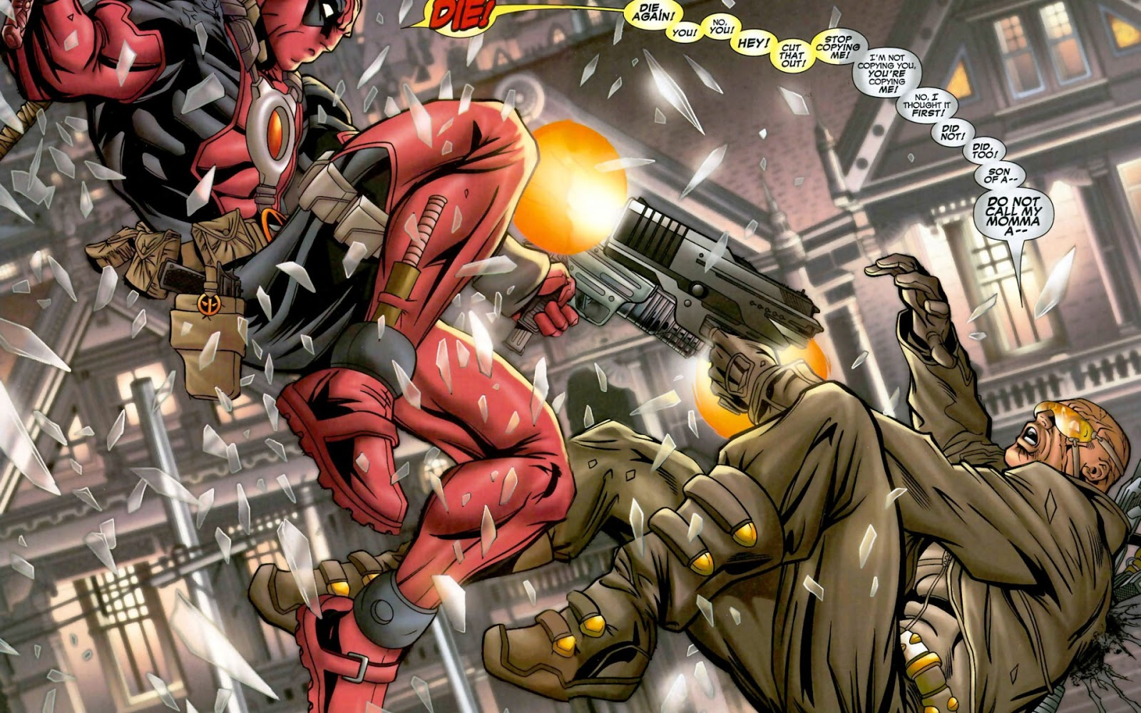 Deadpool marvel comicsfondos de pantalla marvel