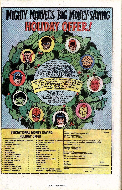 Captain America (1968) Issue #256 #171 - English 26