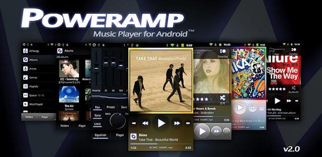 Poweramp Music Player FULL for Cherry Mobile Flare