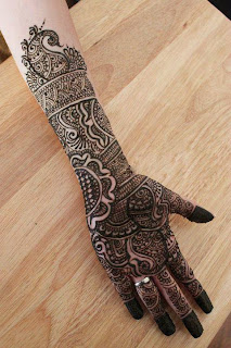 Girls Mehndi Designs 2013