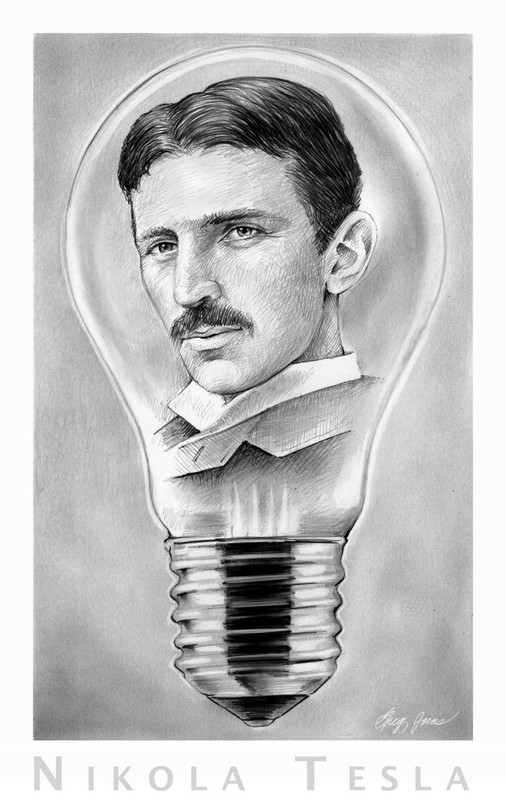 Sketch Of The Day Nikola Tesla
