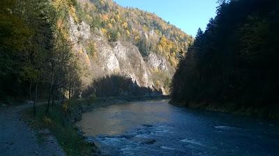 Zakole Dunajca w Pieninach