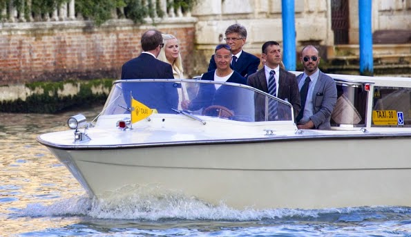 Crown Princess Mette-Marit In Venice