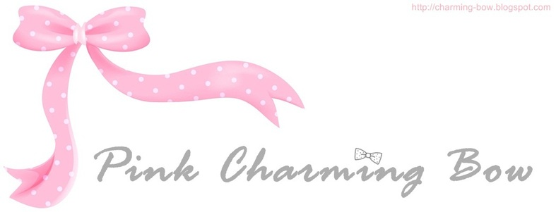 pink charming bow