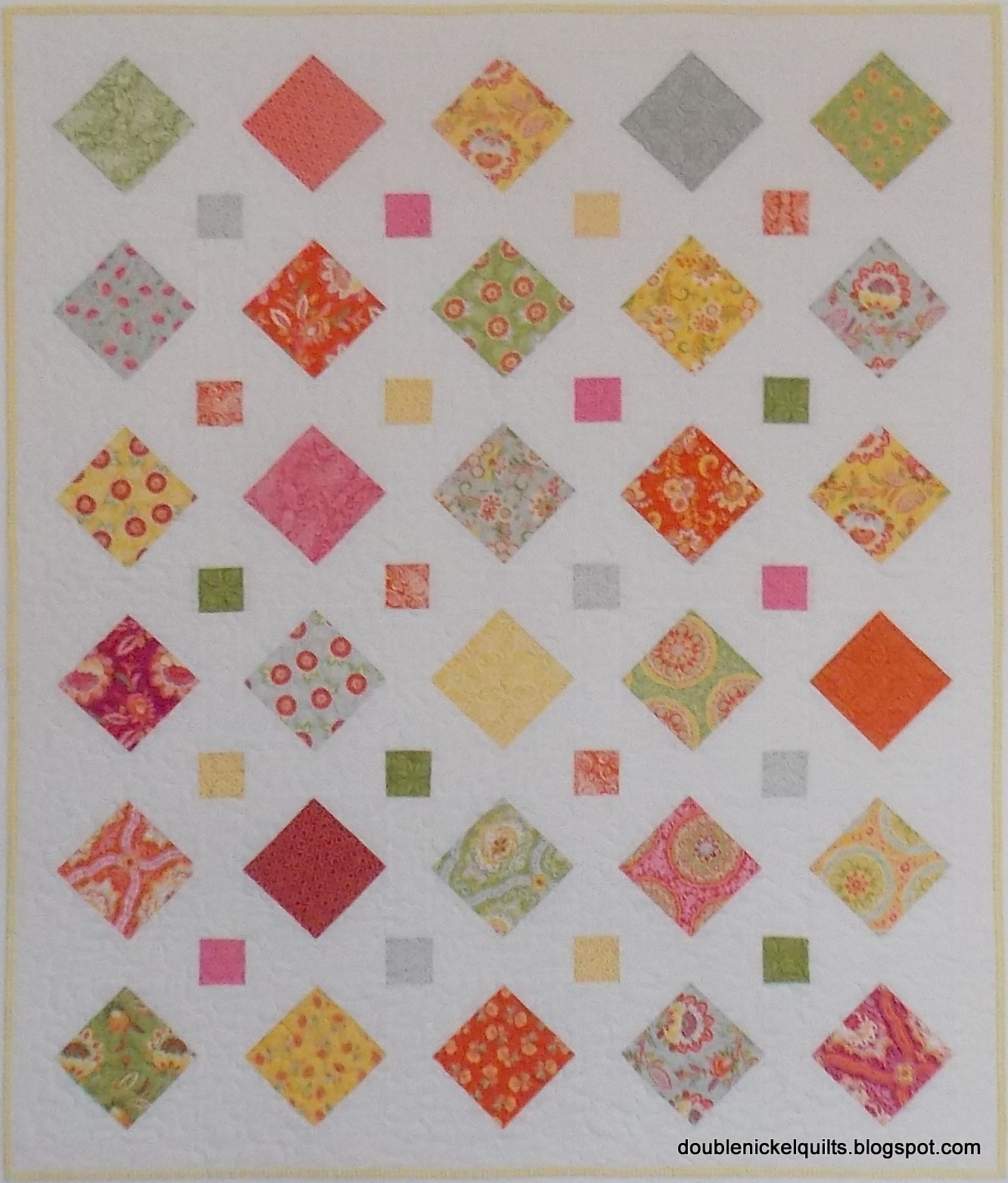 finished my quilt squares s nat img distractions baby charm pack