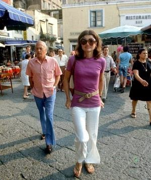 Jackie-Onassis-on-the-island-of-Capri