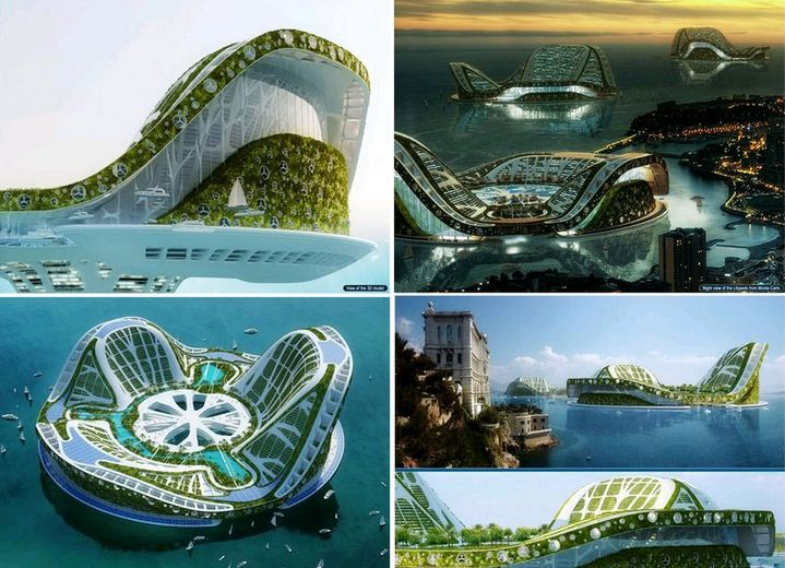 Lilypad City A Future City That Floats Around The World