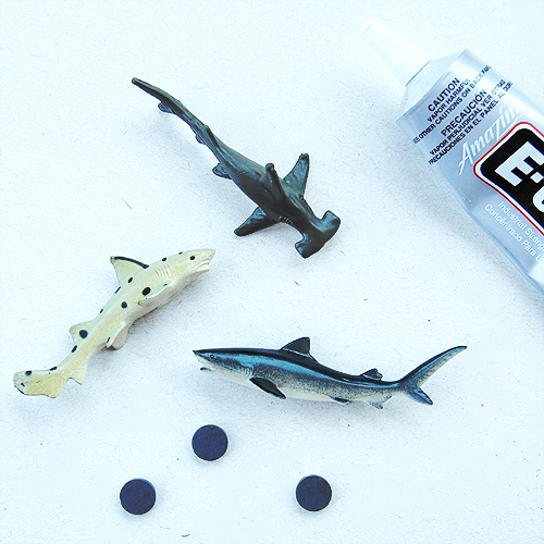 The Craftinomicon: Easy Toy Magnets