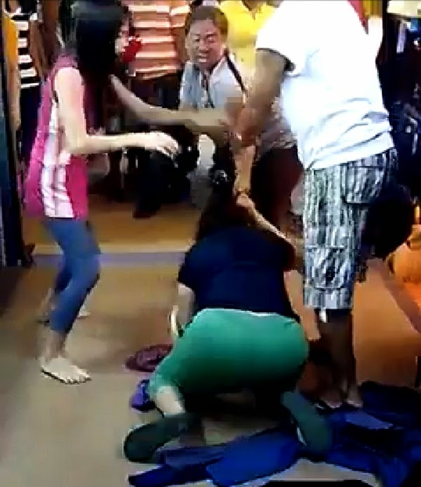 Legal wife vs mistress fight in Bulacan