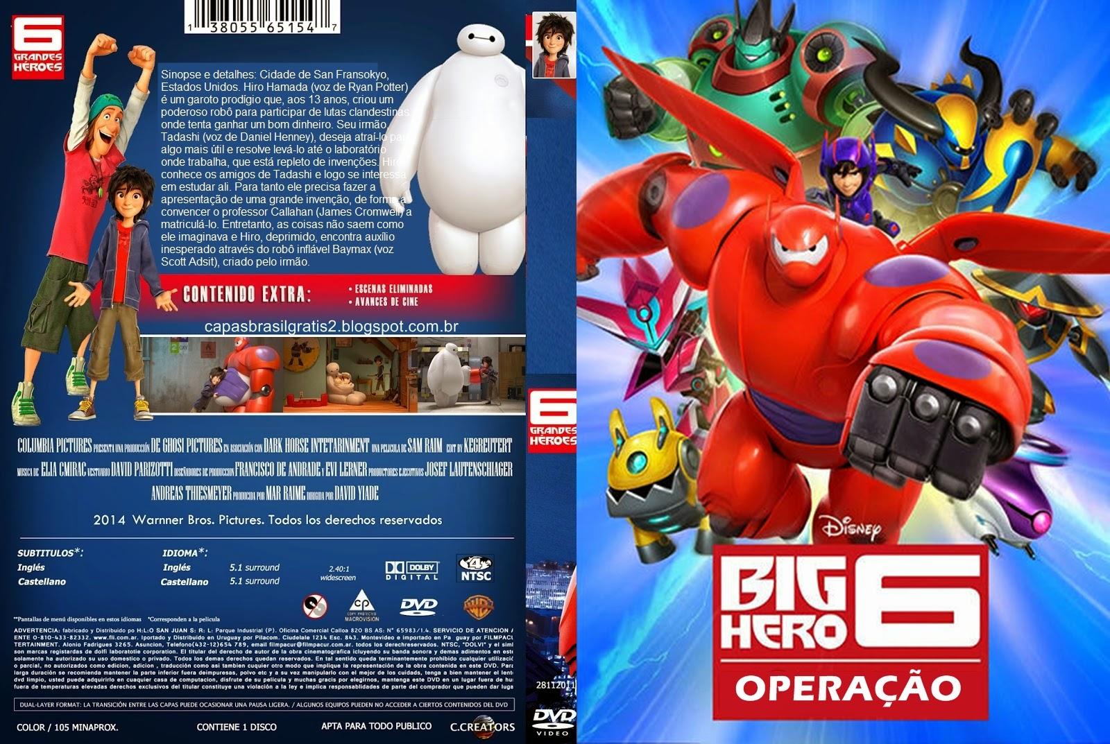 Baixar Operação Big Hero BDRip XviD Dual Áudio Opera C3 A7 C3 A3o 2BBig 2BHero 2B02