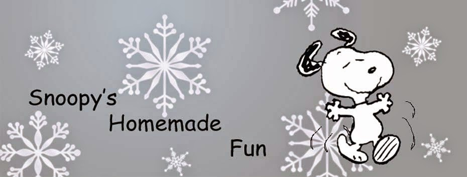 Snoopy's Homemade Fun