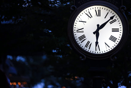東京ディズニーシー アメリカン・ウォーター・フロント 時計画像 写真撮影機材とカメラ設定