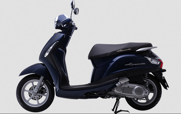 Yamaha Grande DX 2014 xanh đen ánh kim