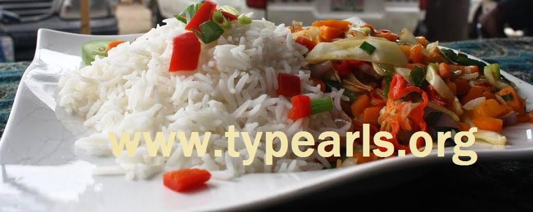 Nigerian rice and fish