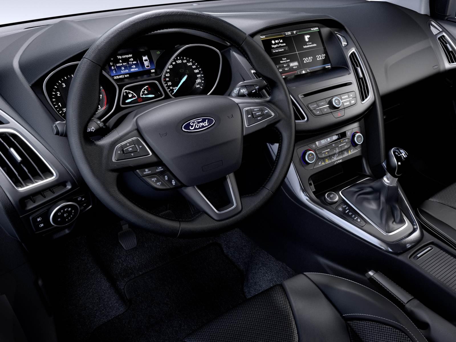 Novo Ford Focus 2015 - interior