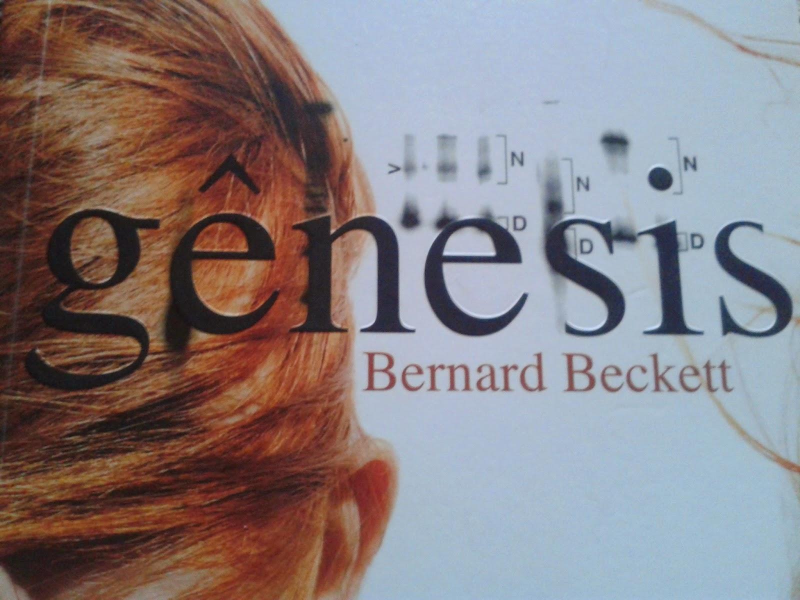 Gênesis - Bernard Beckett - Feita de Palavras