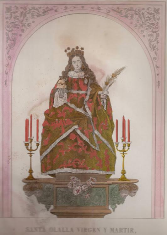 Santa Eulalia a finales del siglo XIX.