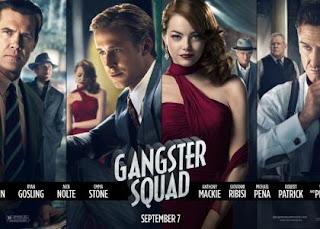 Emma Stone & Ryan Gosling Appear on First 'Gangster Squad' Banner » Gossip | Emma Stone | Ryan Gosling