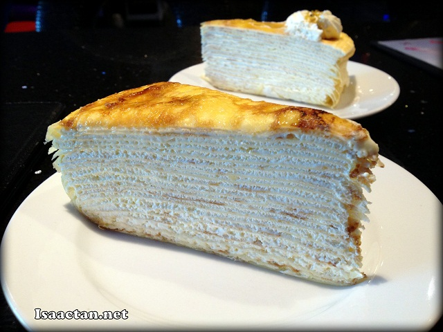 The Original Flavoured Mille Crepe, my favourite - RM9.50/slice