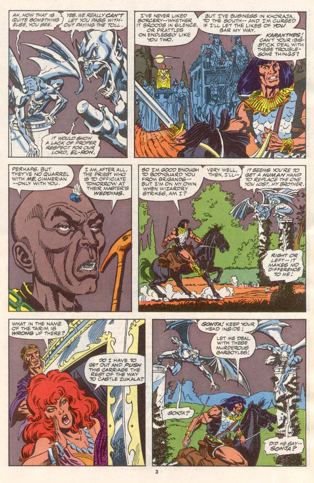 Conan the Barbarian (1970) Issue #242 #254 - English 4