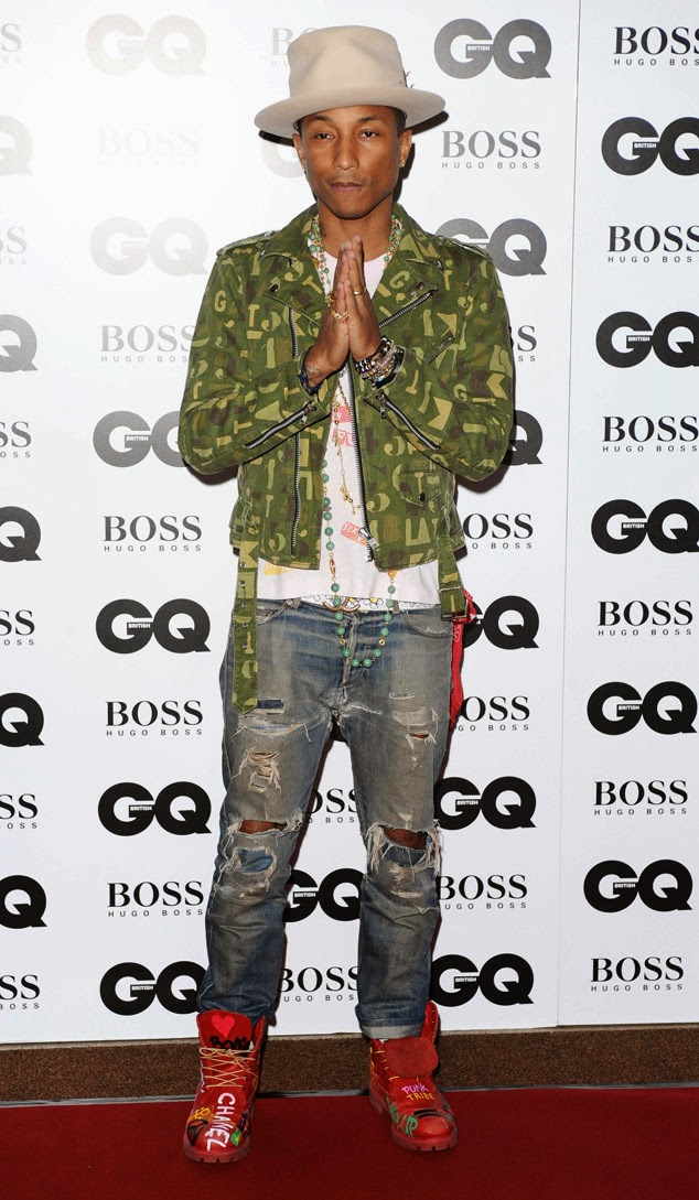 Pharrell Williams Premios GQ 2014