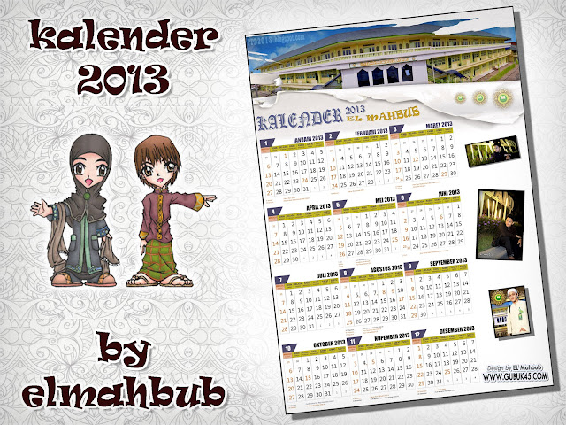Download Kalender 2013 by EL-MAHBUB