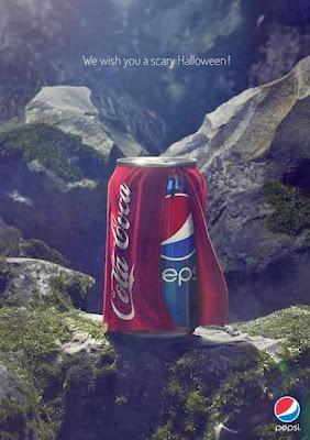 Pepsi asusta a sus consumidores por Halloween