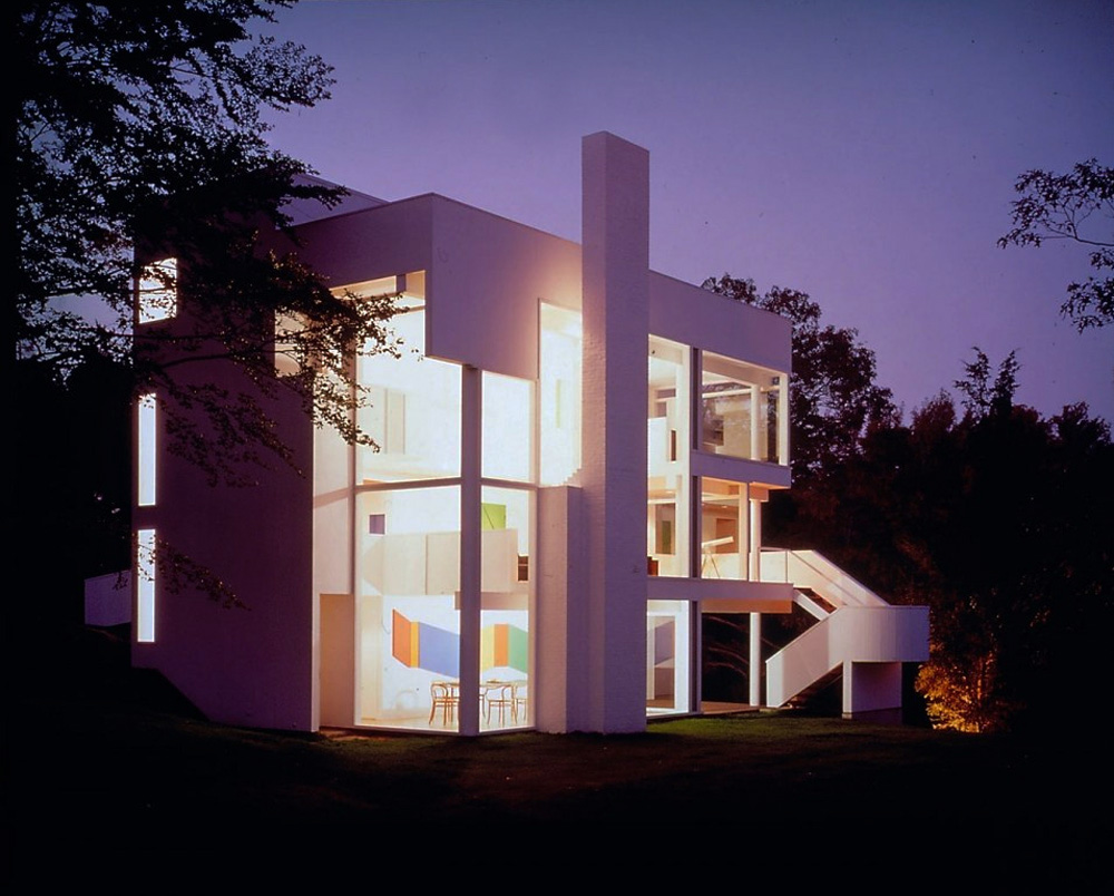 richard meier smith house captured in 1967 - Richard Meier Homes