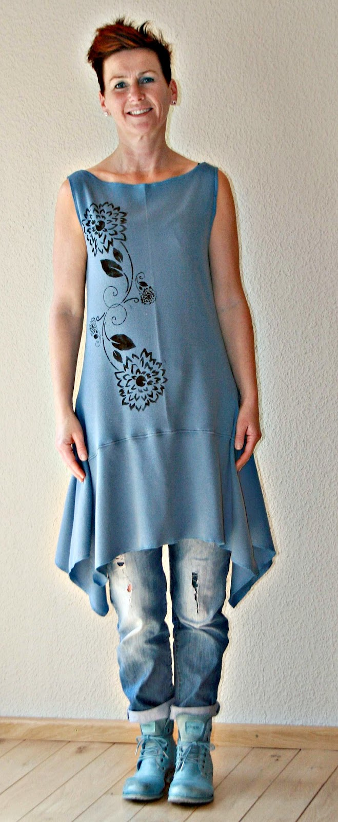 Chiffon kleid schnittmuster kostenlos