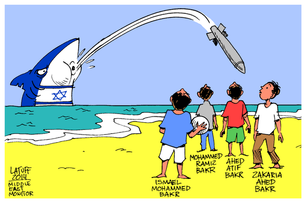the Left shark supports Greater Israel