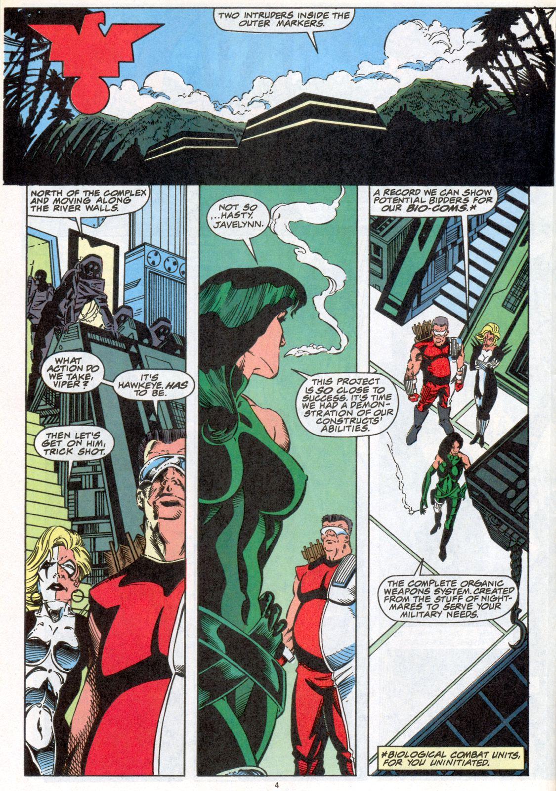 Hawkeye (1994) Issue #4 #4 - English 5