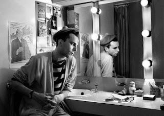 Daniel Day Lewis en el camerino