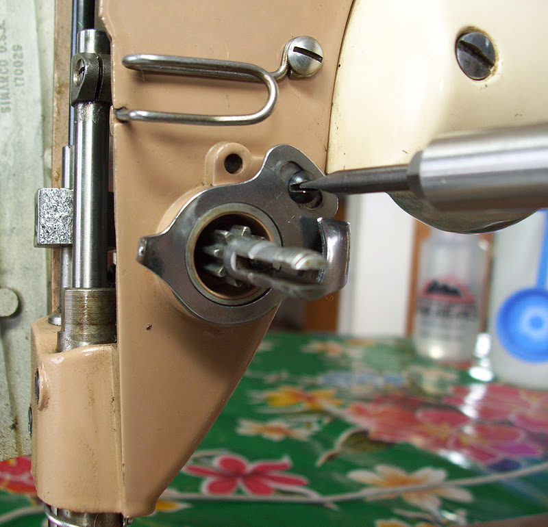 sewing machine tension disc assembly