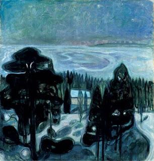 Notte Bianca di Edward Munch