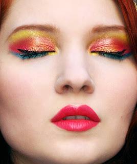 Crush Orange Makeup – Party Wear