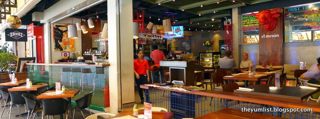 El Meson, Spanish Restaurant, Bangsar