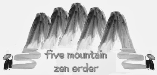 I am a Zen monk in the Five Mountain Zen Order