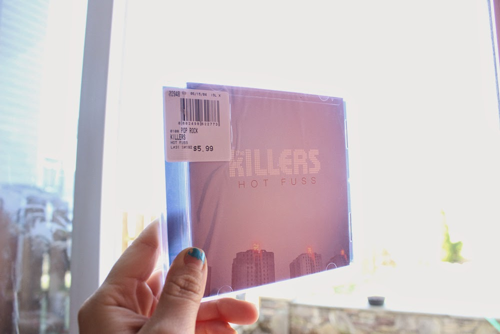 the killers, cd, hot fuss, the killers hot fuss, album, barnes and noble,
