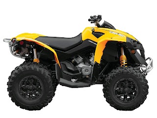2013 Can-Am Renegade 800R ATV pictures 4
