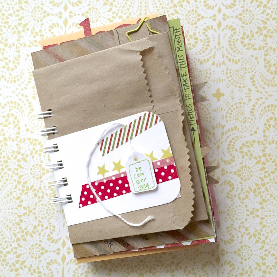 #lists #mixed media #journal #scrapbook #minialbum