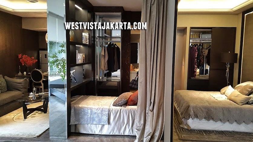 Interior Design Apartemen West Vista Jakarta 2 BR