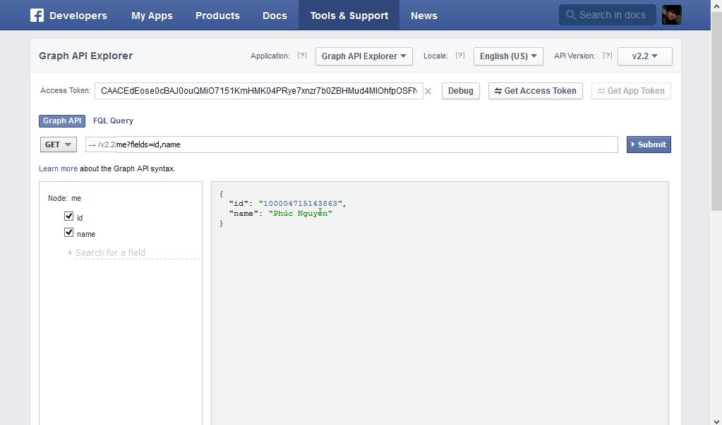 đăng bài lên facebook miễn phí bằng apps developer