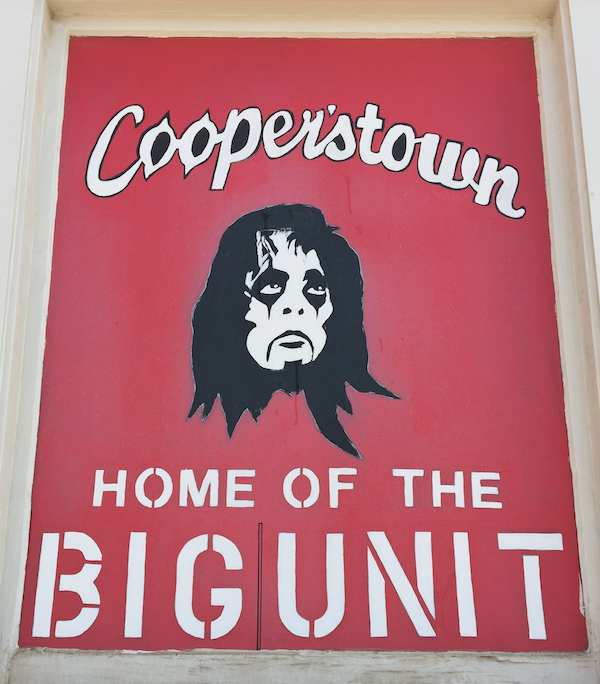 Alice Cooperstown in Phoenix is home of the Big Unit