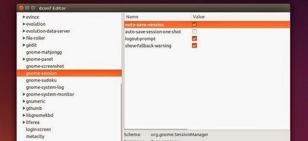 Ponto de restauração sessão Ubuntu